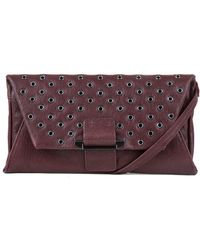 Kooba - Magnetic Snap Leather Wallet Clutch - Lyst