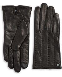Lauren by Ralph Lauren - Textured Gloves - Lyst