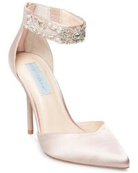 Betsey Johnson - Blue By Betsey Ankle Strap Pump - Lyst