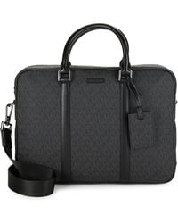 Michael Kors - Covered Logo Briefcase - Lyst