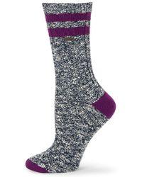 Sorel - Heathered Varsity Crew Socks - Lyst