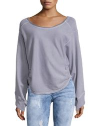 Free People - Side Cinched Pullover - Lyst
