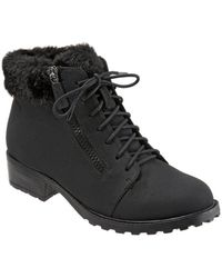 Trotters - Below Zero Faux Fur-lined Ankle Boots - Lyst