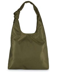 Lord & Taylor - Classic Bow Hobo Bag - Lyst