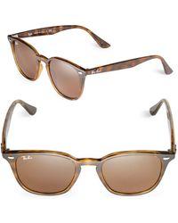 Ray-Ban - Square Wayfarer Sunglasses, 0rb4258 - Lyst