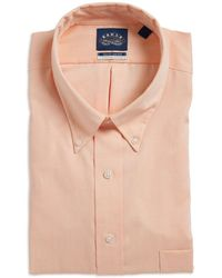 Eagle - Go Tall Solid Dress Shirt With Stretch Collar - Lyst