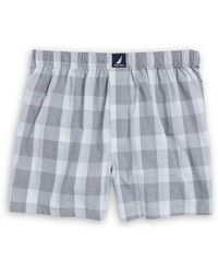 Nautica - Patterned Cotton Boxers - Lyst