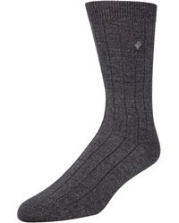 Cole Haan - Ribbed Crew Dress Socks - Lyst