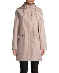 Ivanka Trump - Hooded Raincoat - Lyst