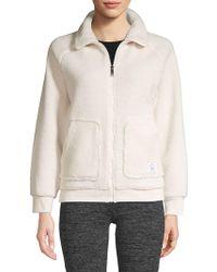Sam Edelman - Faux-shearling Zip Front Jacket - Lyst
