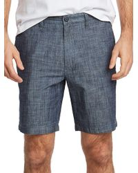 Nautica - Classic-fit Chambray Deck Shorts - Lyst