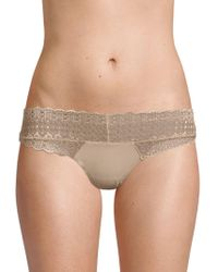 Honeydew Intimates - Skinz Low-rise Lace Thong - Lyst