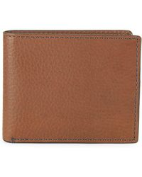 Fossil - Richard Rfid Flip Id Leather Bi-fold Wallet - Lyst