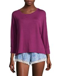 Honeydew Intimates - Two-piece Top And Shorts Lazy Sun Sleepwear - Lyst