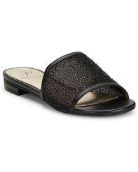 Adrianna Papell - Studded Slip-on Sandals - Lyst