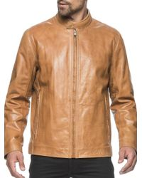 Marc New York - Rhinecliff Leather Moto Jacket - Lyst
