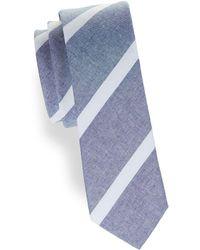Original Penguin - Striped Cotton Tie - Lyst