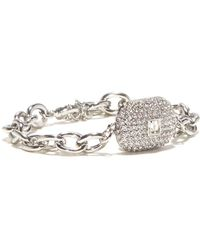 Vince Camuto - Crystal Chain Bracelet - Lyst