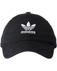 adidas - Originals Relaxed Strapback Cap - Lyst