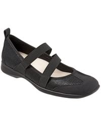 Trotters - Josie Leather Mary Jane Flats - Lyst