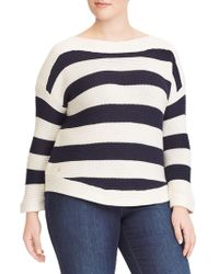 Lauren by Ralph Lauren - Plus Striped Jumper - Lyst