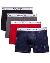 Nautica - Set Of Four Micro Performance Boxer Briefs - Lyst