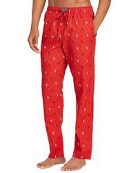 Polo Ralph Lauren Printed Cotton Pyjama Pants