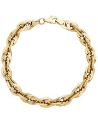 Lord & Taylor - 14k Yellow Gold Chain Bracelet - Lyst