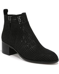 Franco Sarto - Richland Leather Booties - Lyst