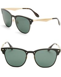 Ray-Ban - Classic Clubmaster Sunglasses - Lyst