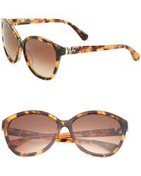 Diane von Furstenberg - Harper 58mm Cats Eye Sunglasses - Lyst