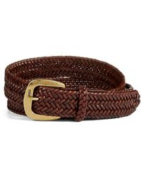 Polo Ralph Lauren - Derby Braid Leather Belt - Lyst