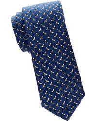 Tommy Hilfiger - Printed Silk Tie - Lyst