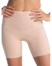 Spanx - Oncore Mid-thigh Shorts - Lyst