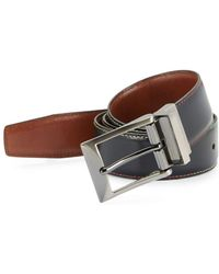 Tallia Orange - Reversible Leather Belt - Lyst