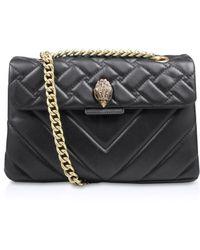 Kurt Geiger Kensington X Leather Shoulder Bag
