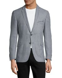 Strellson - Checkered Suit Jacket - Lyst