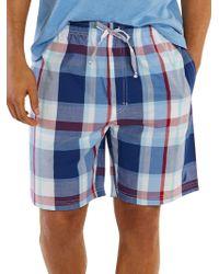 Nautica - Classic-fit Plaid Shorts - Lyst