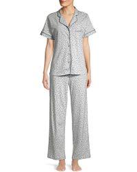 Sesoire - Polka-dot 2-piece Pyjama Set - Lyst
