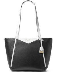 MICHAEL Michael Kors - Whitney Small Leather Top Zip Tote - Lyst