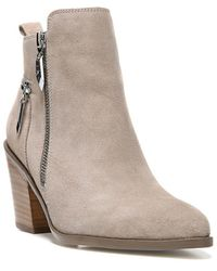 Fergie | Bianca Suede Ankle Boots | Lyst