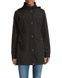 Weatherproof - Hooded Softshell Walker Jacket - Lyst