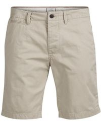 Jack & Jones - Humus Cotton Chino Shorts - Lyst