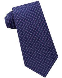 Michael Kors - Mini Grid Silk Tie - Lyst