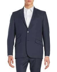 Kenneth Cole - Wool-blend Two-button Jacket - Lyst
