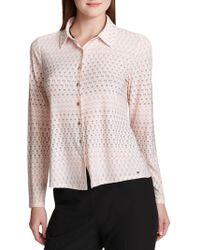 Tommy Hilfiger - Candy Dot Button-down Shirt - Lyst