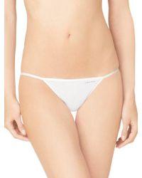 CALVIN KLEIN 205W39NYC - String Bikini Brief - Lyst
