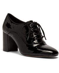 NIC+ZOE - Envy Heeled Patent Leather Oxfords - Lyst