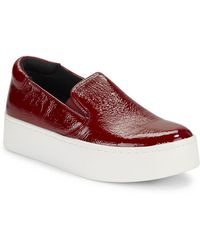 Kenneth Cole - Joanie Patent Leather Slip-on Trainers - Lyst