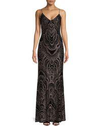 Jump | Embossed Floor-length Gown | Lyst